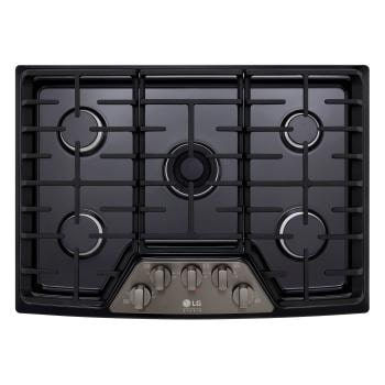 Lg Black Stainless Steel Cooktops Gas Electric Cooktop Lg Usa