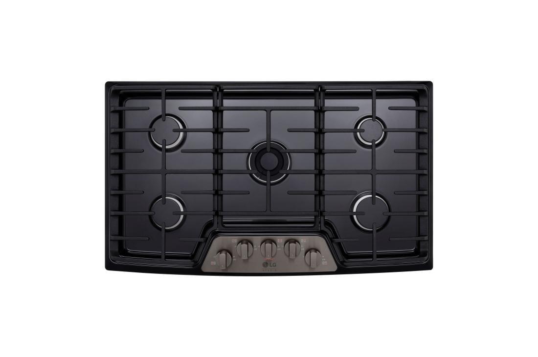 Lg Cooking Liances Lscg367bd Studio 36 Gas Cooktop 1