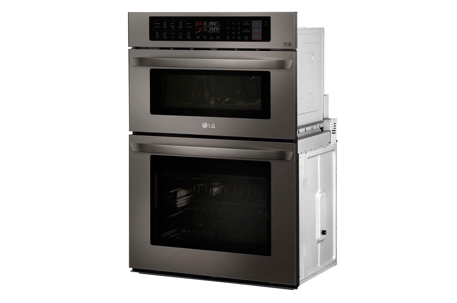 Smart Wi Fi Enabled Combination Double Wall Oven