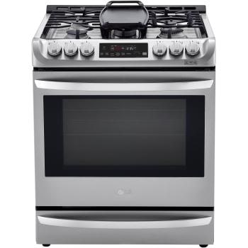 6.3 cu. ft. Smart wi-fi Enabled Dual Fuel Slide-in Range with ProBake Convection® and EasyClean®1