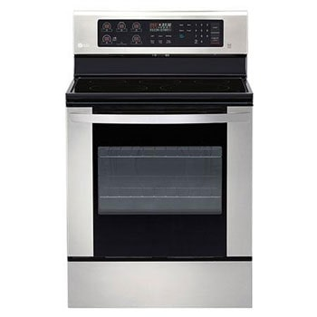6.3 cu. ft. Electric Single Oven Range with EasyClean®1