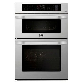 LG STUDIO 1.7/4.7 cu. ft. Smart wi-fi Enabled Combination Double Wall Oven1