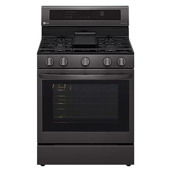 5.8 cu ft. Gas Single ThinQ® InstaView™ Range with Air Fry1