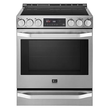 LG STUDIO 6.3 cu. ft. Induction Slide-in Range with ProBake Convection® and EasyClean®1