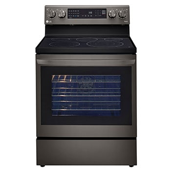 6.3 cu ft. Smart Wi-Fi Enabled True Convection InstaView™ Electric Range with Air Fry1