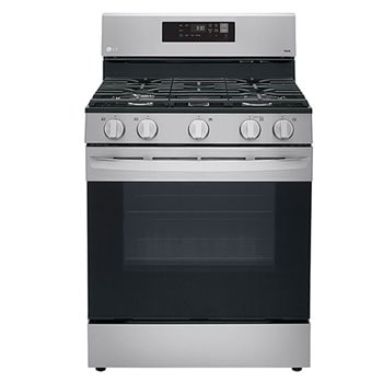 5.8 cu ft. Smart Wi-Fi Enabled Gas Range with EasyClean®1