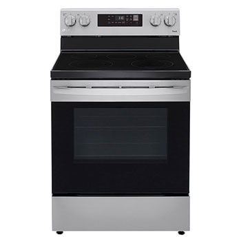 6.3 cu ft. Smart Wi-Fi Enabled Electric Range with EasyClean®1