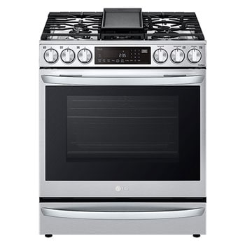 6.3 cu ft. Smart Wi-Fi Enabled ProBake Convection® InstaView™ Gas Slide-in Range with Air Fry1
