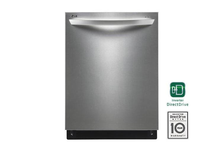 Lg Ldf7774st Top Control Dishwasher With Adjustable 3rd