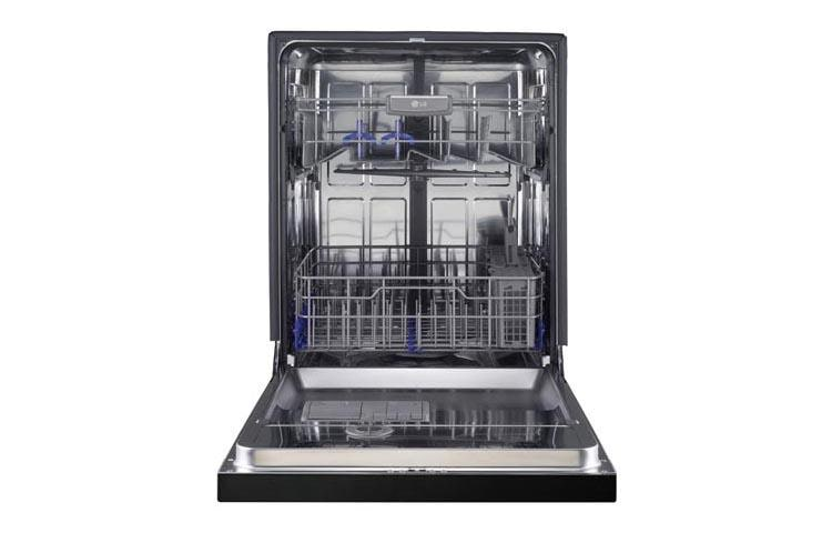 Lg Lds5040bb Front Control Dishwasher With Easyrack Plus Lg Usa