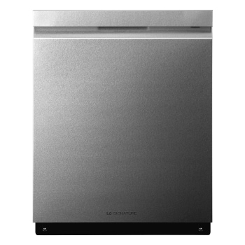 LG SIGNATURE Top Control Smart wi-fi Enabled Dishwasher with QuadWash™, front view, LUDP8997SN1