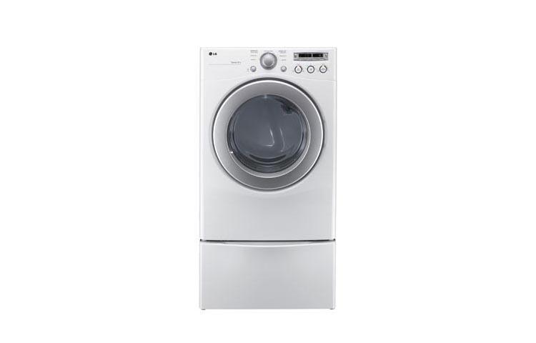 Lg Sensor Dryer ~ Lg dlg w extra large capacity gas dryer with sensor