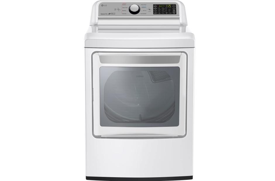 Lg Dlg7201we  Super Capacity Gas Dryer With Sensor Dry