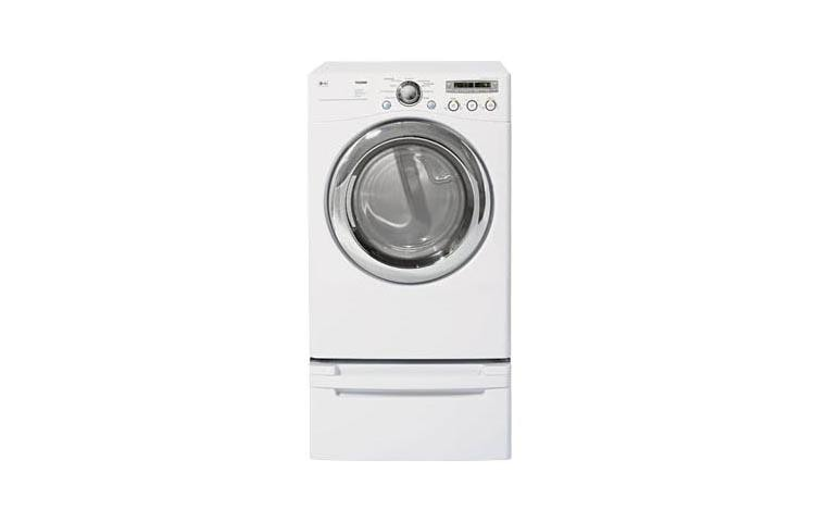 Electric Dryer With 9 Drying Programs White