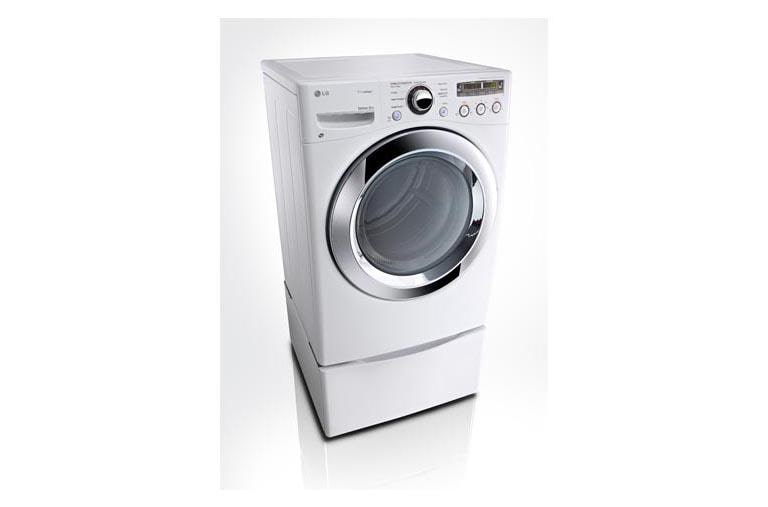 Lg Dlex3250w Ultra Large Capacity Steam Dryer With Sensor