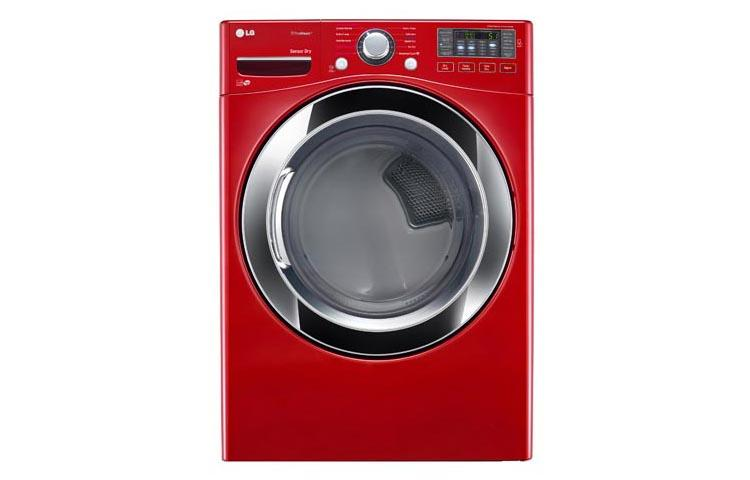 Lg Dlex3370r Large Capacity Steam Dryer With Nfc Tag On Lg Usa