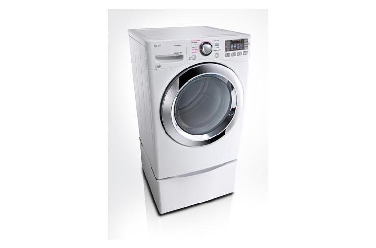 Lg Dlex3370w Ultra Large Capacity Smart Thinq Steam Dryer Lg Usa