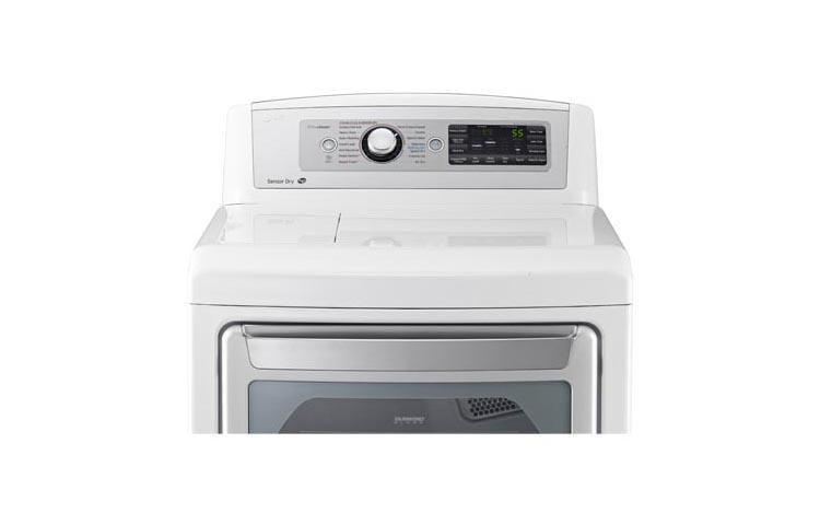 Lg Dlex5680w Ultra Large High Efficiency Steam Dryer Lg Usa