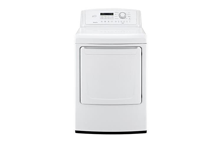 Lg Sensor Dryer ~ Lg dlg w large capacity gas dryer with sensor dry usa