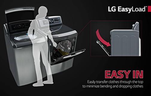 Lg Dlgx7701ve Mega Capacity Turbosteam Gas Dryer With