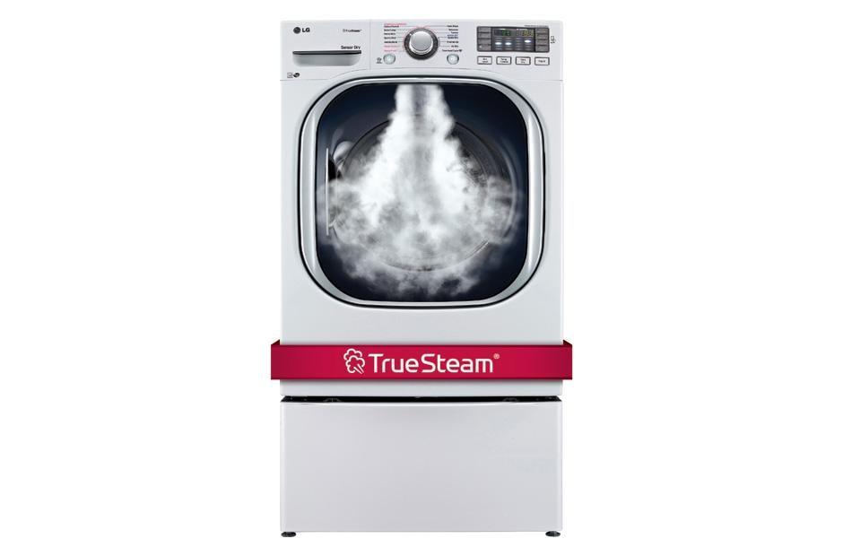 Lg Dlgx4271w 7 4 Cu Ft Ultra Large Capacity Steamdryer W Nfc Tag On Lg Usa