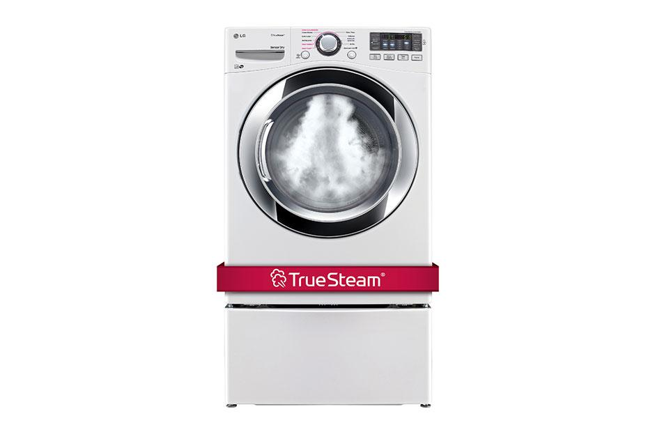 Lg Dlgx3371w Large Capacity Steam Gas Dryer With Nfc Tag On Lg Usa