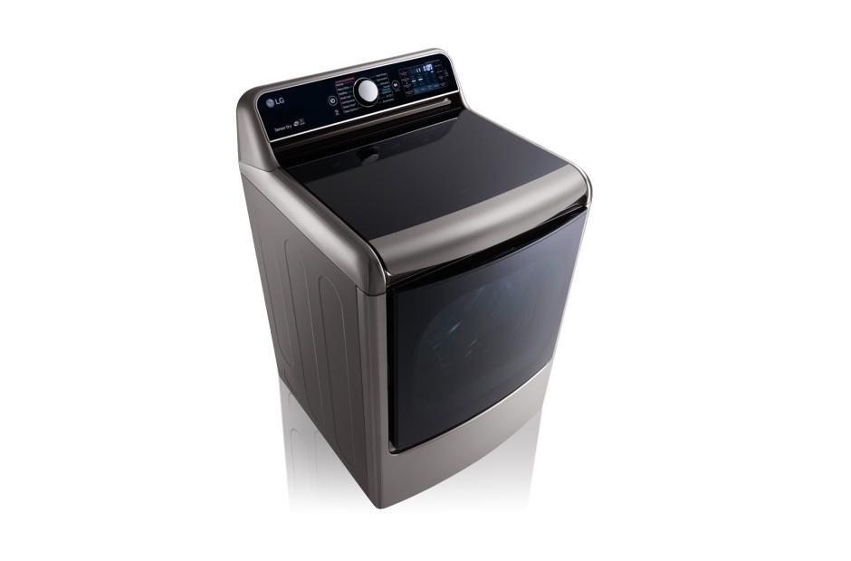 9.0 Cu. Ft. Mega Large Capacity TurboSteam™ Dryer With EasyLoad™ Door