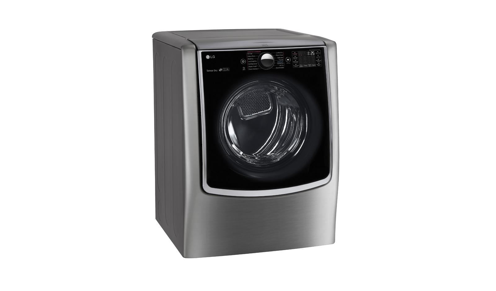 Lg Dlex5000v Ultra Large Capacity Turbosteam Electric Dryer Lg Usa