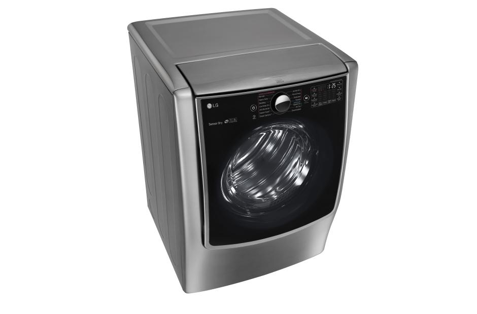 9.0 cu. ft. Large Smart wi-fi Enabled Gas Dryer w/ TurboSteam™