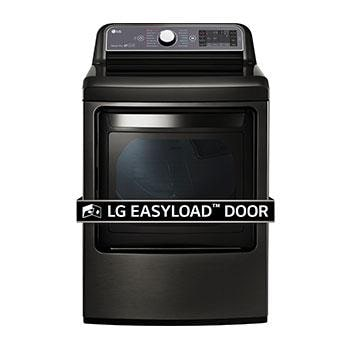 7.3 cu. ft. Ultra Large Capacity TurboSteam™ Electric Dryer with EasyLoad™ Door1