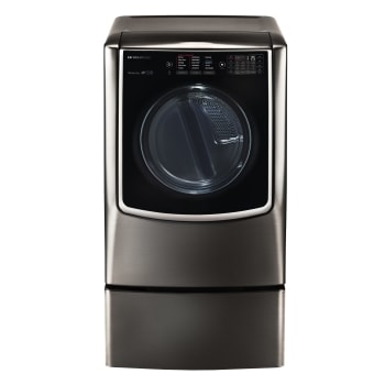 LG SIGNATURE 9.0 cu. ft. Large Smart wi-fi Enabled Electric Dryer w/ TurboSteam™ 1