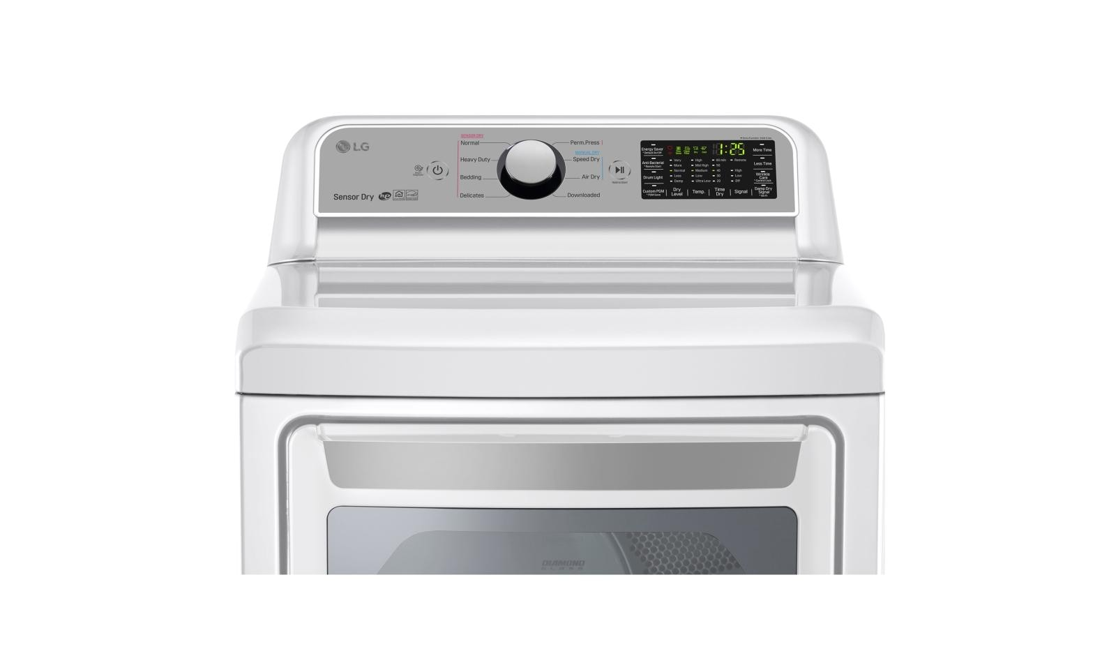 LG DLE7200WE: Super Capacity Electric Dryer with Sensor Dry | LG USA