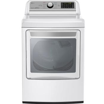Lg Dle7200we Super Capacity Electric Dryer With Sensor