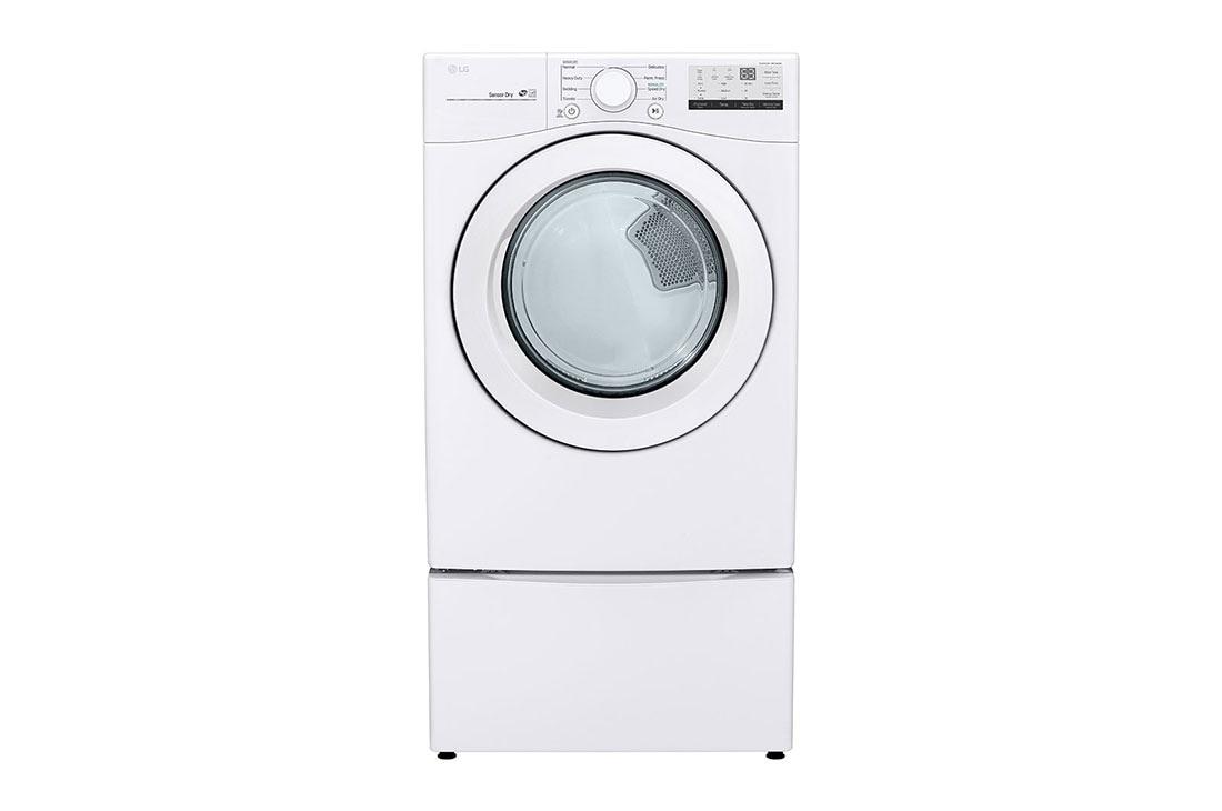 Lg Dlg3401w 7 4 Cu Ft Ultra Large Capacity Gas Dryer Lg Usa