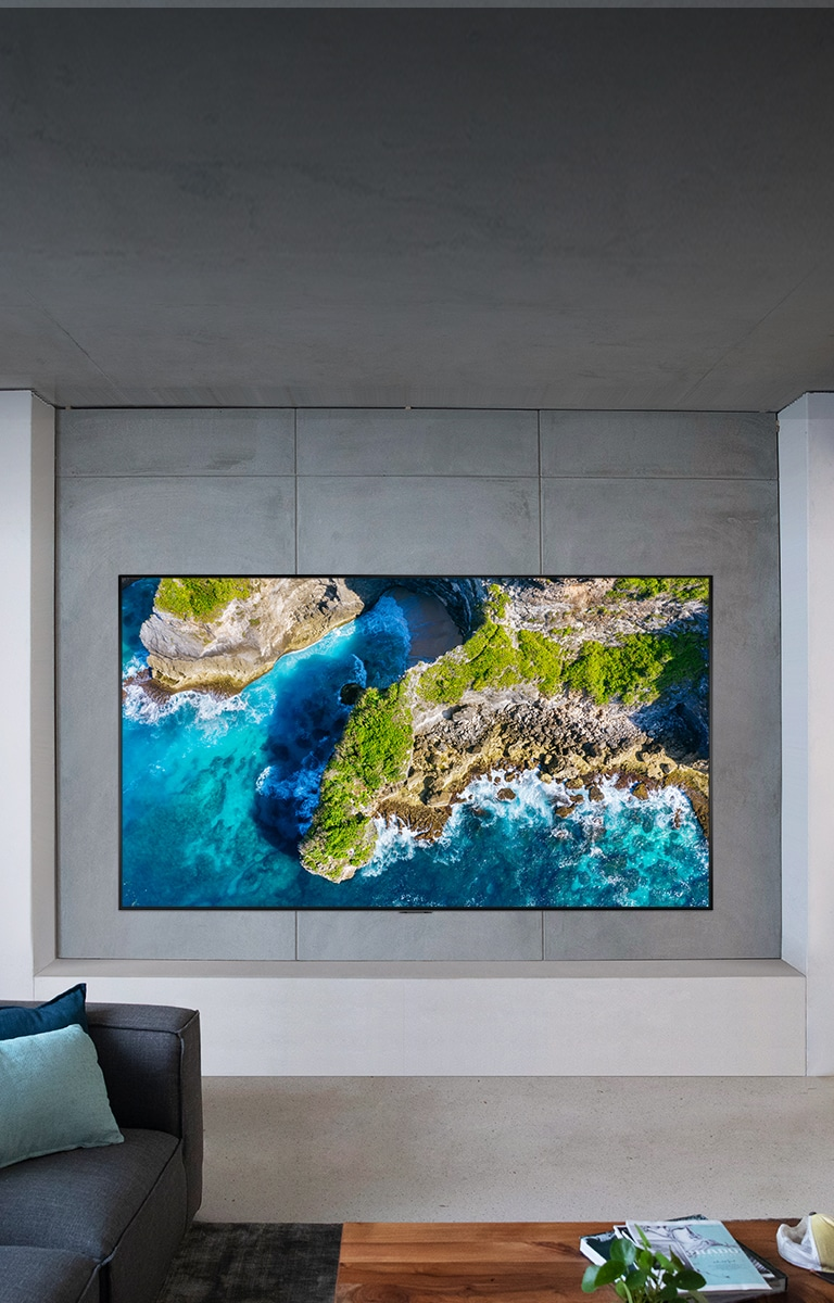 properly mount the gallery design tv