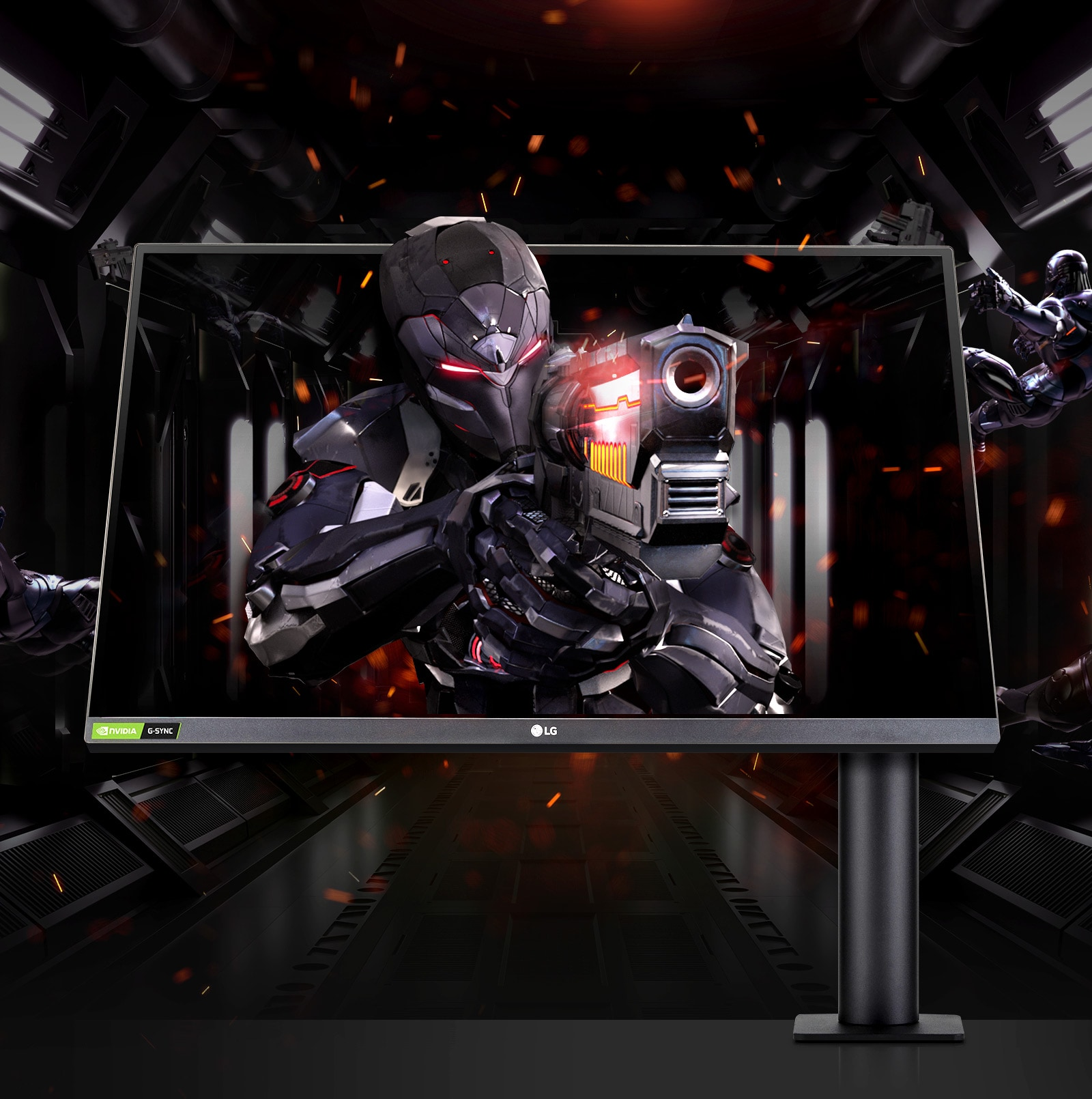 LG UltraGear monitor as the powerful gaming display