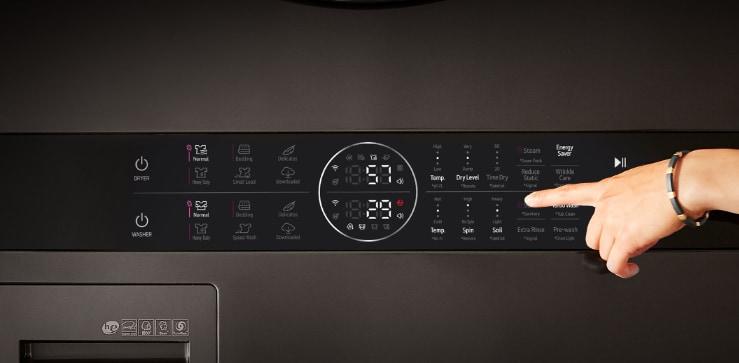 Easy-reach Center Control™ panel1