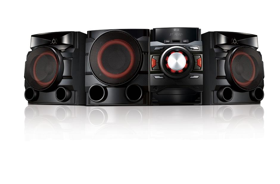 sound system with subwoofer. cm4550 sound system with subwoofer