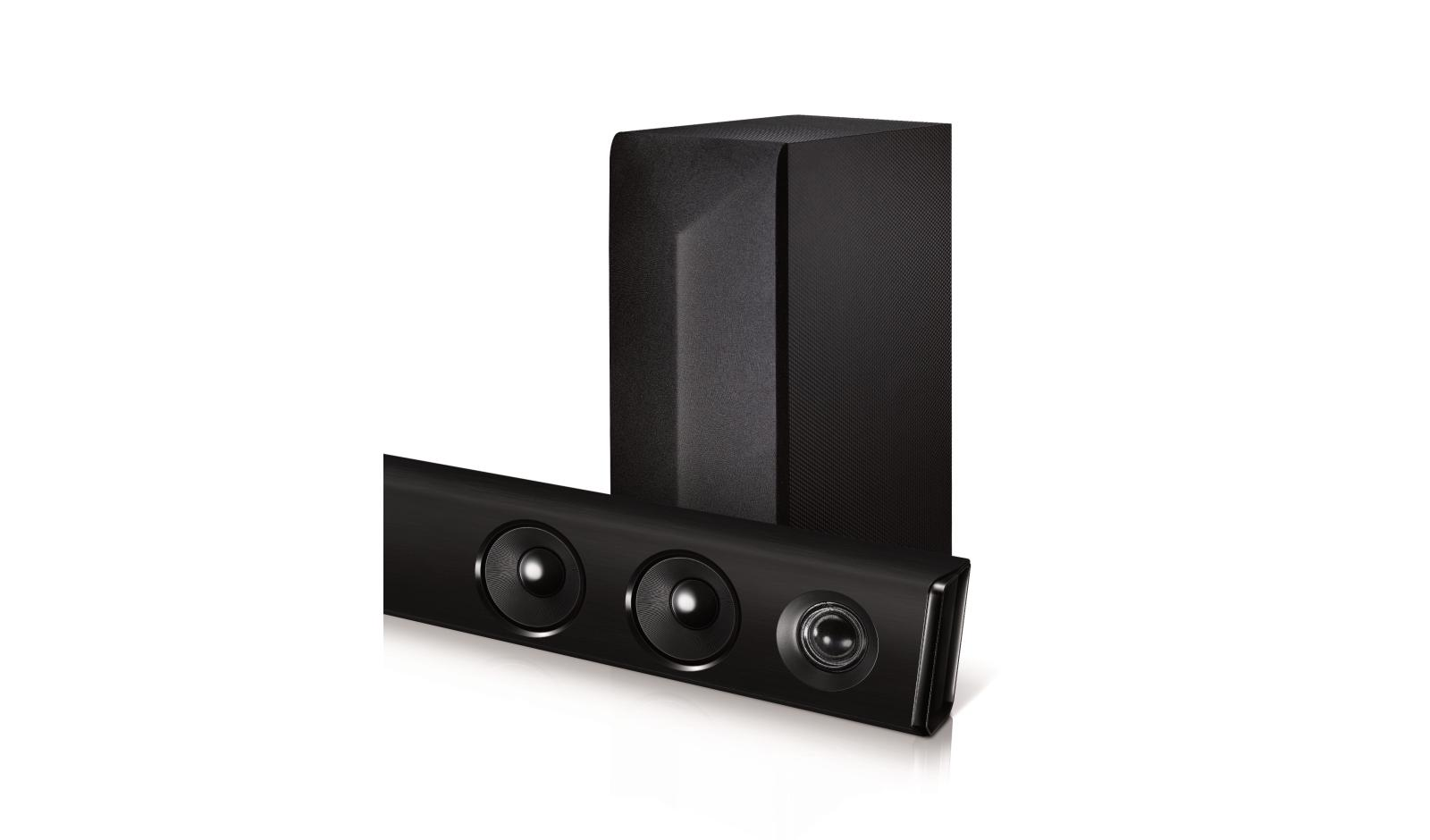 Lg Las454b 21ch 300w Sound Bar With Wireless Subwoofer And Home Audio Wiring Configurations Bluetooth Connectivity Usa