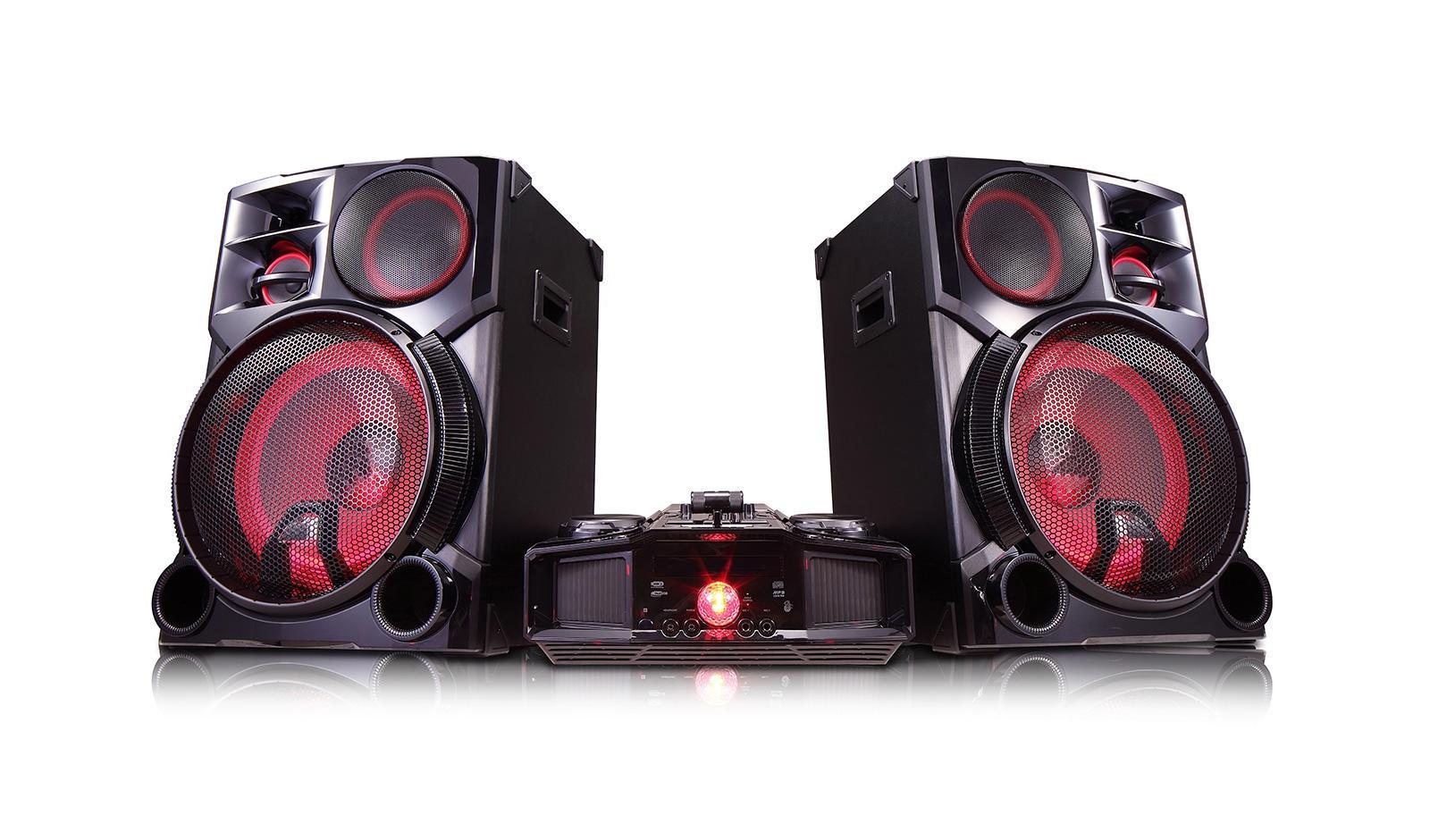 Lg Cm9960 4800w Hi Fi Entertainment System With Bluetooth