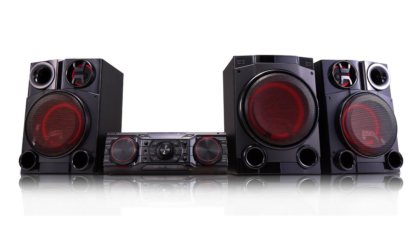 LG CM8460: LG XBOOM 2750W Hi-Fi Entertainment System with Bluetooth®  Connectivity | LG USA