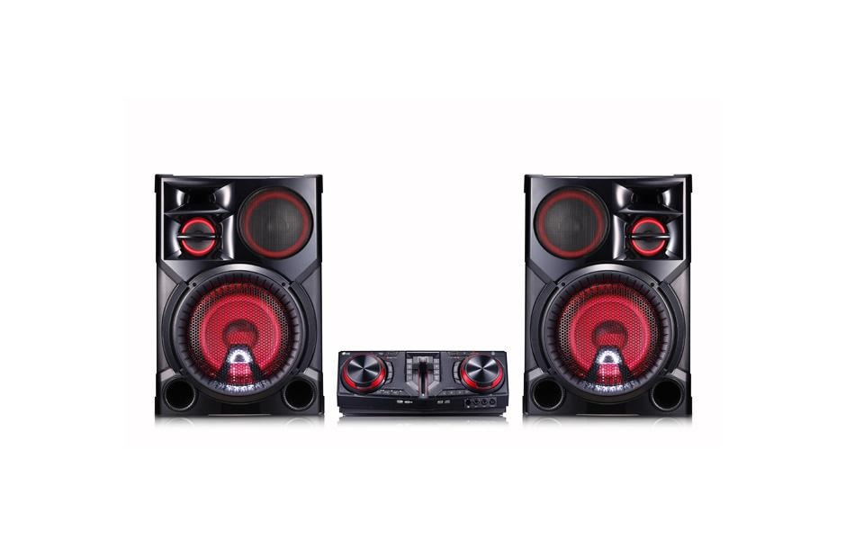 Backyard Music System lg cj98: lg xboom 3500w hi-fi entertainment system with bluetooth