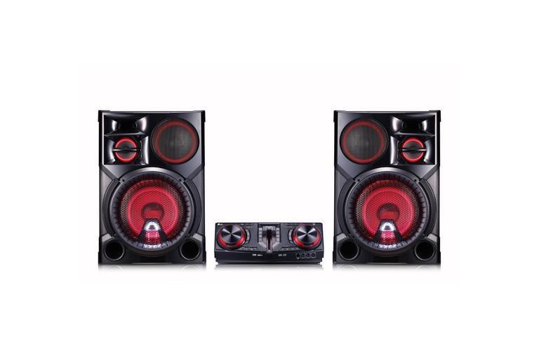 lg cj98 lg xboom 3500w hi fi entertainment system with bluetooth  lg home audio cj98 thumbnail 1