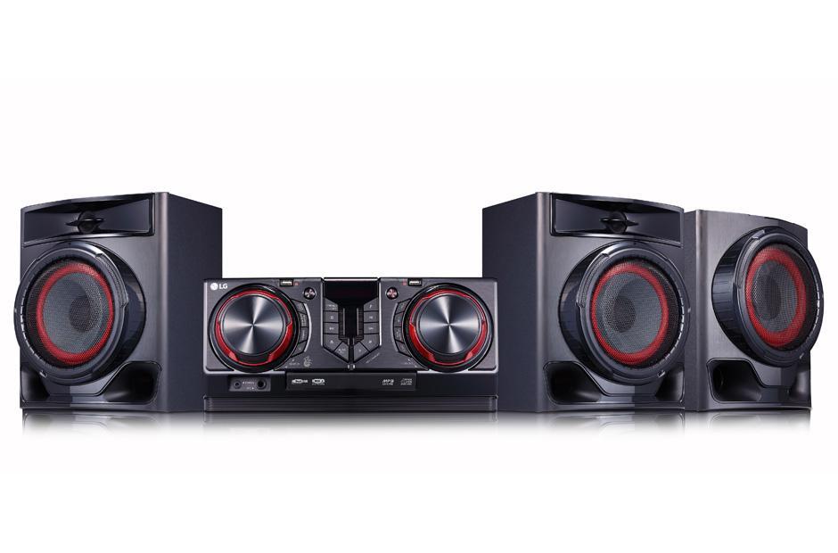 LG CJ45 720W Hi Fi Entertainment System With Bluetooth