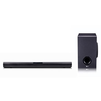 LG SJ2 160W 2.1 Channel Sound Bar with Bluetooth® Connectivity1