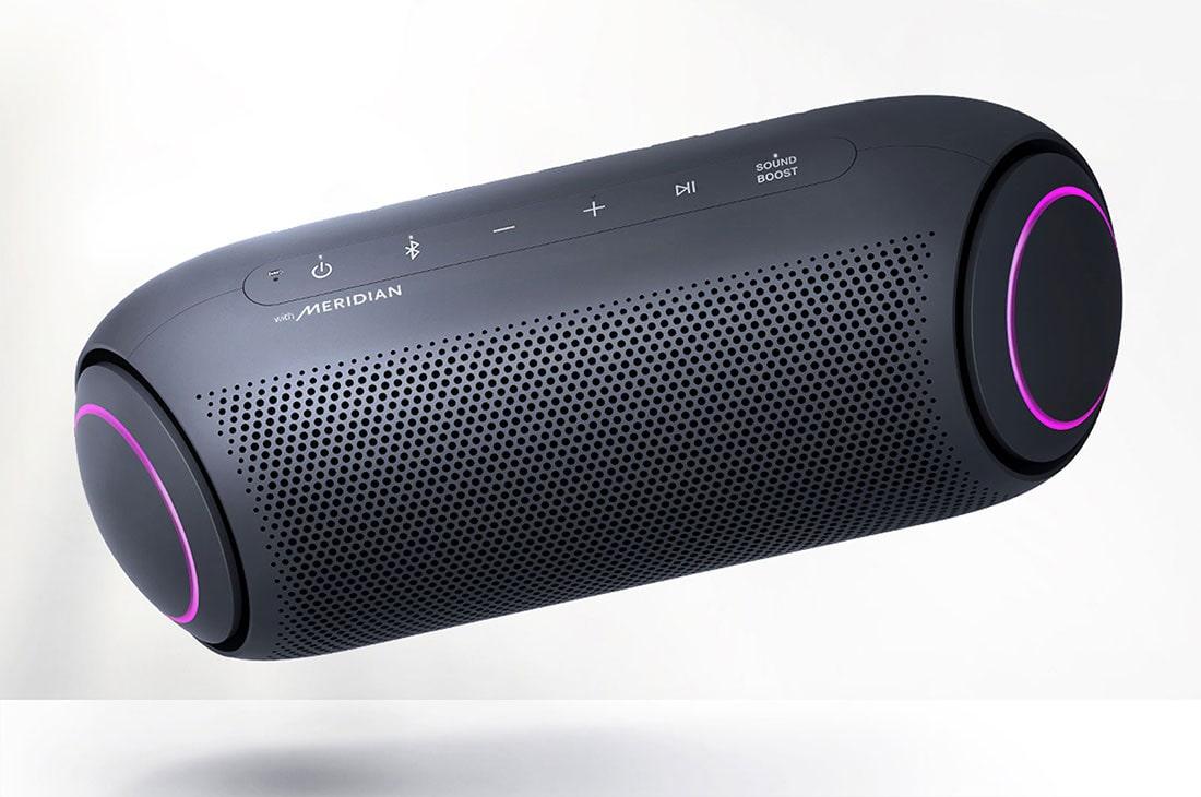 Lg Pl7 Xboom Go Pl7 Portable Bluetooth Speaker With Meridian Audio Technology Lg Usa