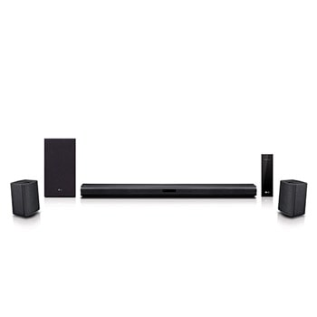 LG SNC4R 420W Sound Bar w/ Bluetooth Streaming and Surround Sound Speakers1