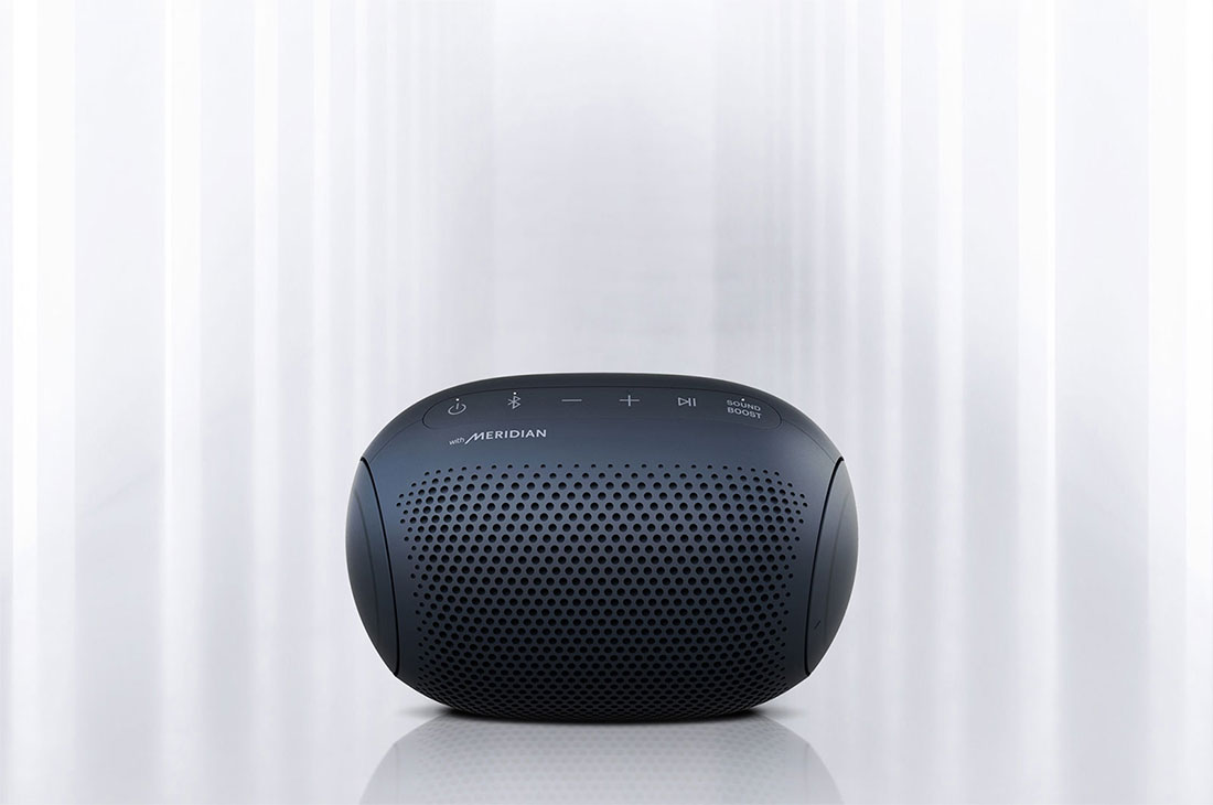 LG PL2 : XBOOM Go PL2 Portable Bluetooth Speaker with Meridian ...