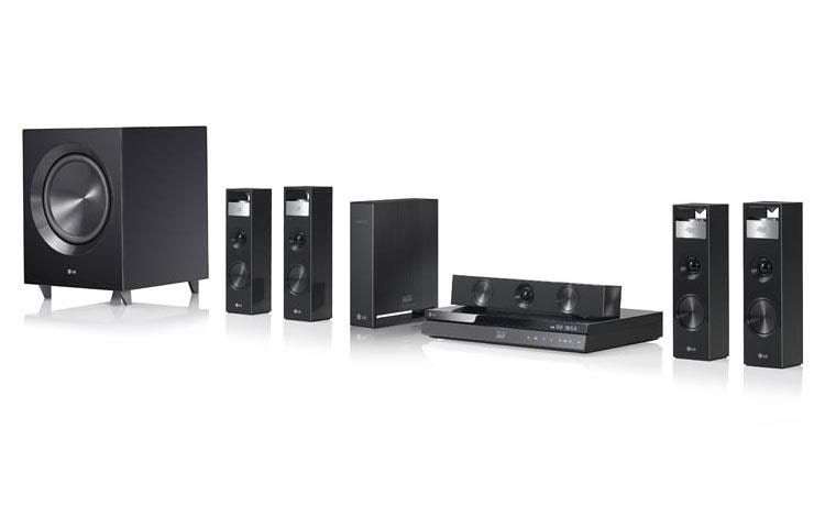 LG BH9220BW 3DCapable Bluray Disc Home Theater System with Smart