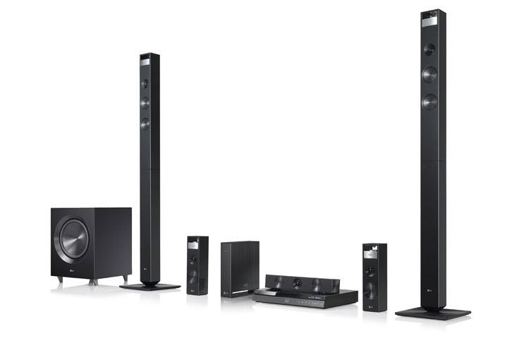 Lg 3d Capable Blu Ray Disc Home Theater System With Smart Tv And Wireless Speakers Bh9420pw Lg Usa